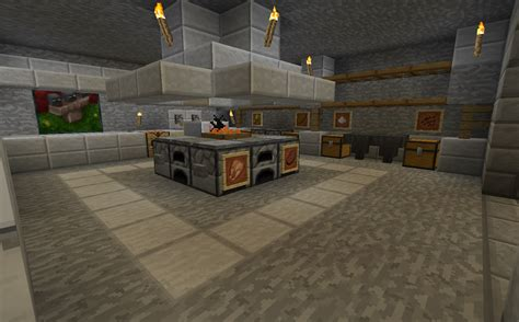 Open Kitchen Shelving Ideas - minecraft projects minecraft kitchen with functional food dispensers