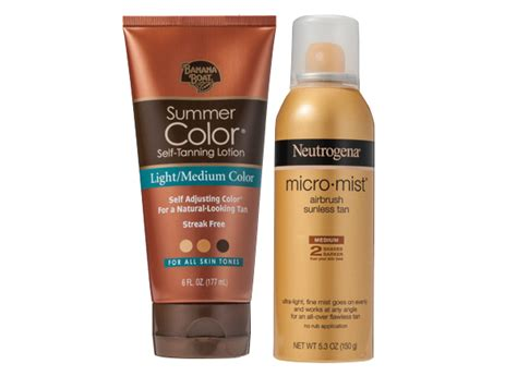 Banana Boat Vs Neutrogena Self Tanner by Best Self Tanner Products Reviewed Consumer Reports News