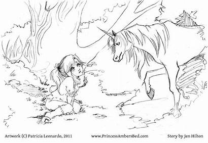 Unicorn Coloring Pages Realistic Detailed Princess Colouring