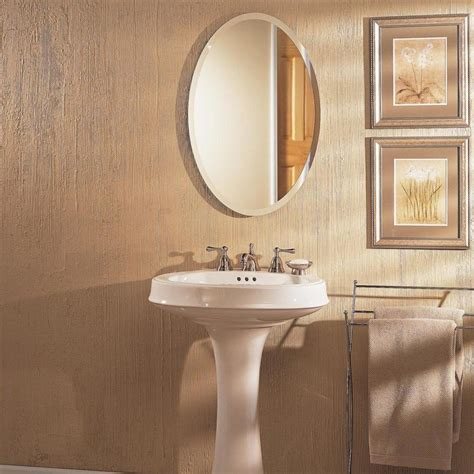 Framed Oval Bathroom Mirror by 20 Photos Oval Bath Mirrors Mirror Ideas