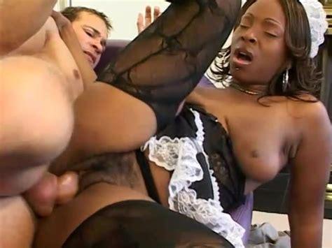 Hot Ebony Maid With Big Tits Fucked Hard By Her Boss
