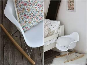 Chaise A Bascule Chambre Bebe : fauteuil rocking chair eames excellent fauteuil rocking chair inside chaise a bascule chambre ~ Nature-et-papiers.com Idées de Décoration