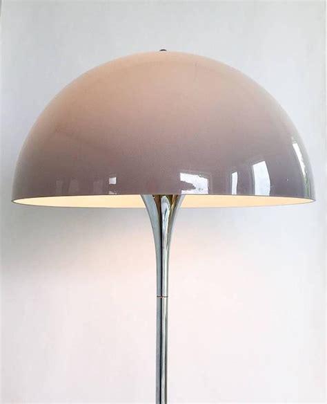 louis poulsen panthella l rare chrome floor light panthella by verner panton for