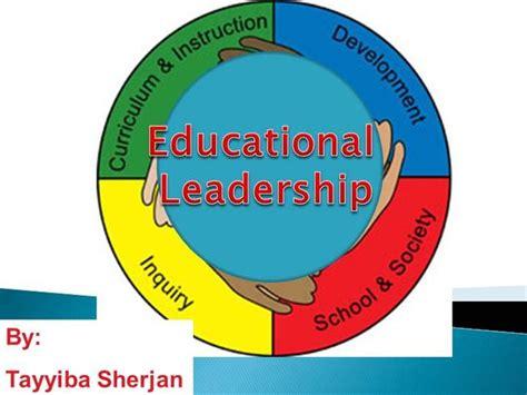 educational leadership authorstream