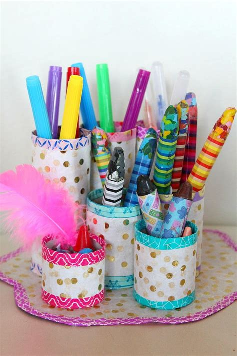 thrifty diy pencil holder favecraftscom