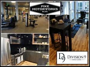 Pike motorworks transforms capitol hill for Division 9 flooring