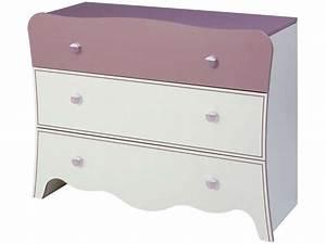 Commode Chambre Fille : commode 3 tiroirs elisa vente de commode enfant conforama ~ Teatrodelosmanantiales.com Idées de Décoration
