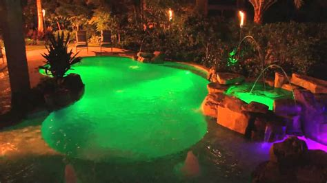 changing pool light color changing pool lights pools for home