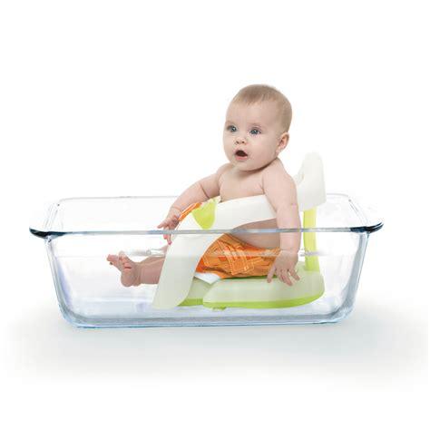 siege bebe bain anneau de bain pliant vert de sur allobébé