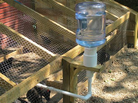 automatic chicken feeder 10 chicken water station ideas home design garden