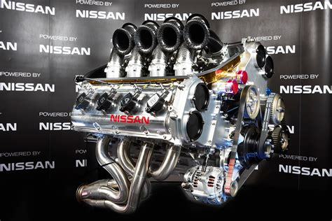 Nissan Motorsport V8 Supercar Engine Unveil