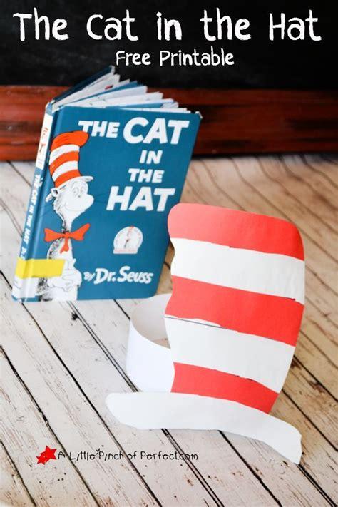 cat   hat printable craft  dr seuss