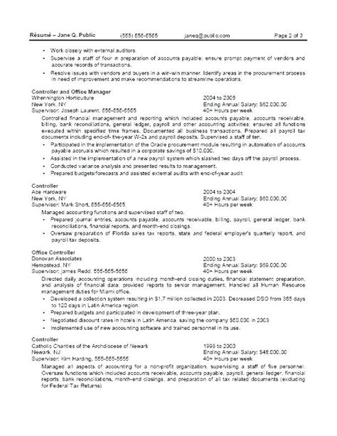 Federal Resume Sles by 6 7 Federal Government Exles Salescv Info
