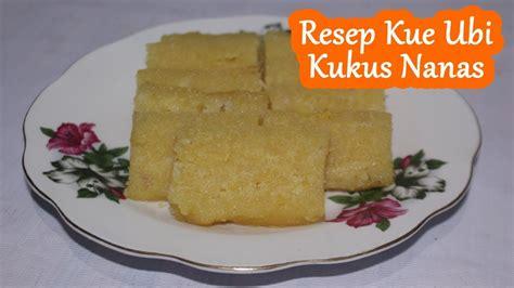 Resep kue kukus mekar ini termasuk dalam kategori resep kue basah yang cara pengolahannya dengan cara di kukus. Resep Kue Ubi Kukus Nanas - YouTube