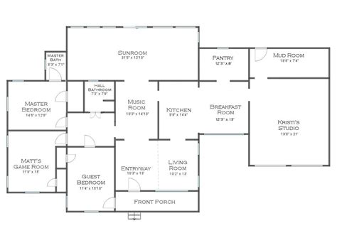 House Floorplans by Exciting House News A Change In Floor Plans