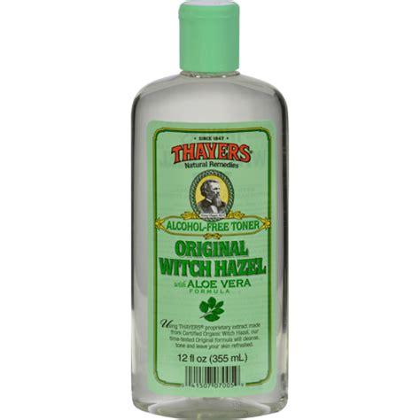 thayers toner bettymills witch hazel with aloe vera original
