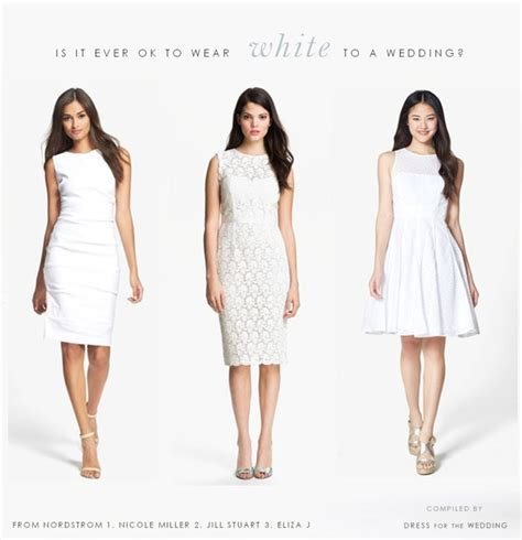 wearing white to a wedding can i wear white to a wedding