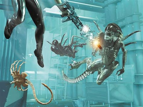 alien resurrection wallpapers  alien