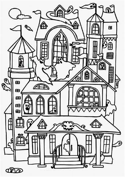 Coloring Pages Doll Printable Haunted Popular