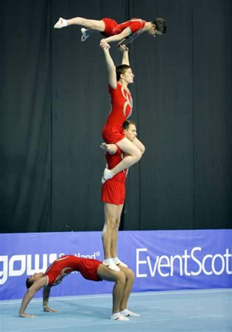 extreme acrobatic gymnastics acrobatic