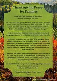 family prayers blessings thanksgiving - Christmas Dinner Blessings