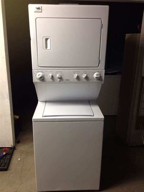kenmore stackable washer dryer newer kenmore 27 stackable washer dryer recipes to cook in