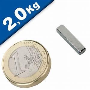 Haftkraft Magnet Berechnen : quadermagnet magnet quader 18 x 3 x 4mm neodym n48h nickel haftkraft 2 0kg neodym magnete ~ Themetempest.com Abrechnung