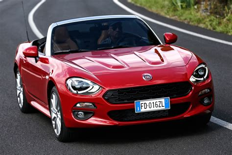 fiat spider 124 fiat 124 spider revealed pictures auto express