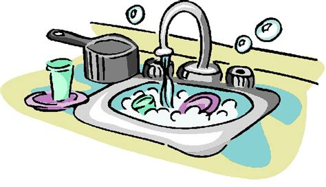 Washing Dishes Clipart Washing Dishes Clipart Clipart Suggest