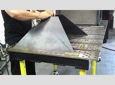 Plasma Cutting Table DIY Downdraft Table using
