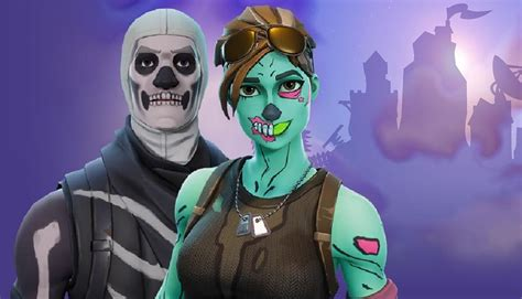 account  sale includes skull trooper ghoul trooper