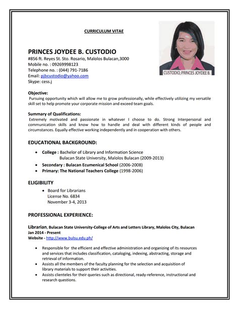Work Resumes by Resume Resume Cv