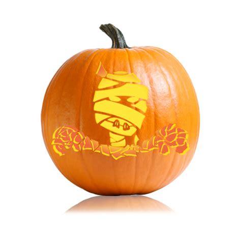 mummy pumpkin carving mummy pumpkin stencil ultimate pumpkin stencils