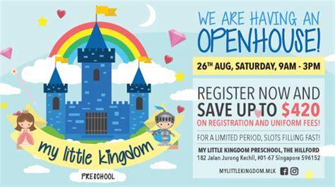 preschool and early childhood education portal in 924   my little kingdom openhouse aug 2017