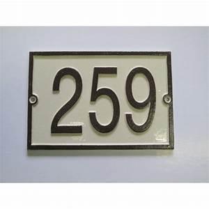 Plaque De Maison : numero de maison personnalis ~ Teatrodelosmanantiales.com Idées de Décoration