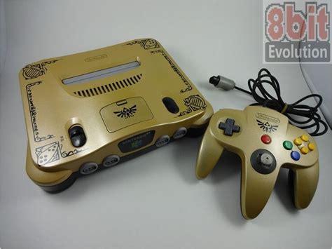 Custom Designed Zelda Ocarina Of Time Nintendo 64 Console