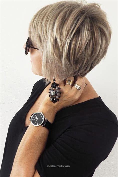 haircuts for 50 with hair de 25 bedste id 233 er inden for kvinder kort h 229 r p 229 1144