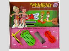 Whirlikids Four Seasons Action Paper Dolls Unopened