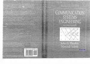 Proakis Salehi Communication Systems Engineering 2nd Edition Solution Manual