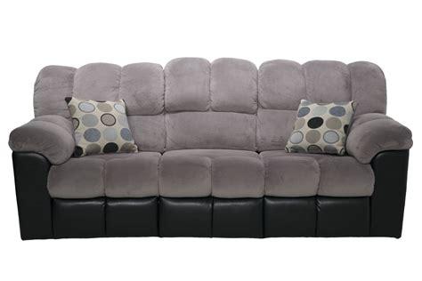 gray reclining sofa and loveseat fountain gray reclining sofa living room sofas mor
