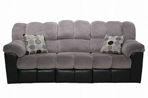 Fountain gray reclining sofa living room sofas mor for Sectional sofas mor furniture