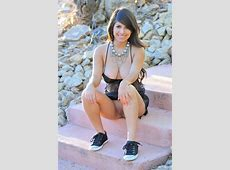 Layla Rose In Black See Through Nighty Redbust
