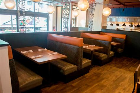 Booth Benches by Custom Restaurant Booths Upholstered Booths Banquettes