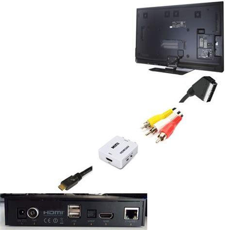 cable peritel hdmi votre adaptateur hdmi p 233 ritel chez conectic