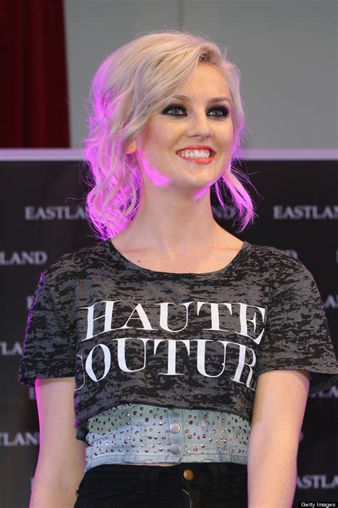 A Neck Piercing Really Little Mixs Perrie Edwards Gets