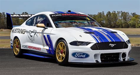 New Ford Supercar by Australia S New Ford Mustang Supercar Racer Looks Really