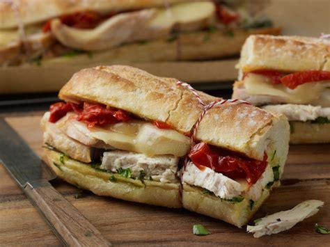 warm tuscan chicken sandwiches recipe relish