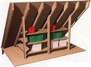 How To Build Garage Cabinets Easy by Building Shelves Inside Of Your Home Attic How To Build