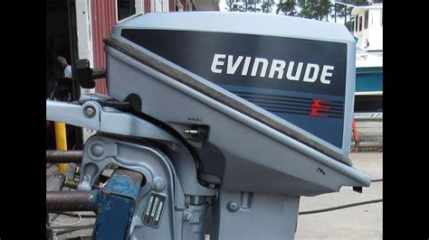E0595645 Used 1986 Evinrude E10rcdb 9.9hp 2-stroke Tiller