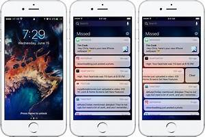 iOS 10 tidbit: clearing all notifications at once with a ...